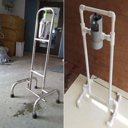 Pvc Foot operated hand sanitizer dispenser manufacture
